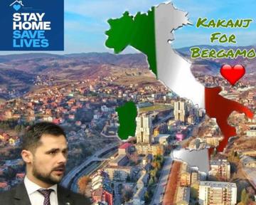 Kakanj per Bergamo (pagina Facebook del Comune di Kakanj)