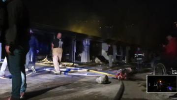 dal video dell'incendio