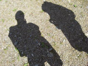 Nostre ombre, foto di Nicolabricot - Flickr.com