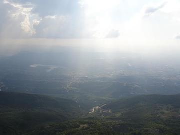 Vista su Tirana