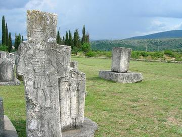 Bogomili necropolis, near Stolac BiH, foto di Dougsmi - Flickr.com