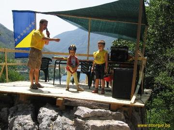 A scuola di arrampicata con Scorpio - www.scorpio.ba