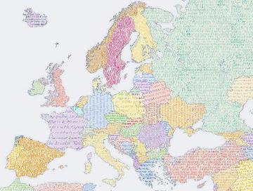 Disegno dell'Europa