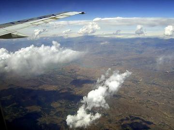 Anatolia, vista dall'aereo