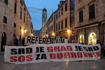 Dubrovnik per il referendum, foto di Civil Initiative Srdj je Nas.jpg