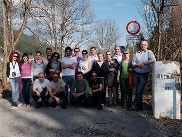 Delegazione SeeNet a Sutrio, Friuli Venezia Giulia