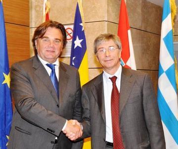 Ivan Jakovcic e Vasco Errani - Bologna 2011