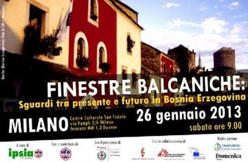 Finestre balcaniche, Milano 2013 - www.ipsia-acli.it