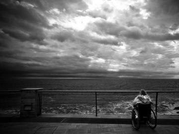 Sguardo al mare, foto di Luca Rossato - Flickr. com