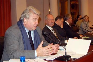 L'Assessore regionale Elio De Anna e il presidente IAL Vittorio Brancati