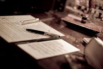 Penna e foglio