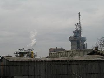 Pancevo, petrolchimico