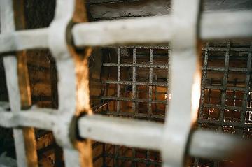 In gabbia, foto di Mora