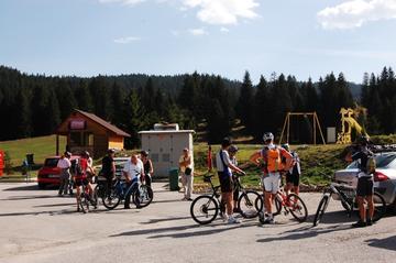 Tour promozionale del Sarajevo Olympic Bike Park