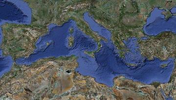 Mediterraneo, foto di Manuel M. Ramos - Flickr.com