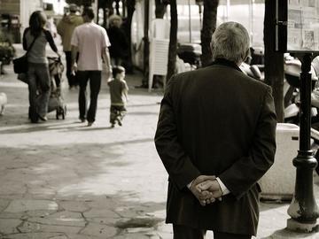 Anziano, foto di Hop Frog - Flickr.com