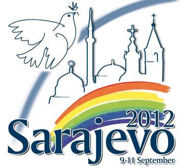 Sarajevo 2012, logo - www.santegidio.org