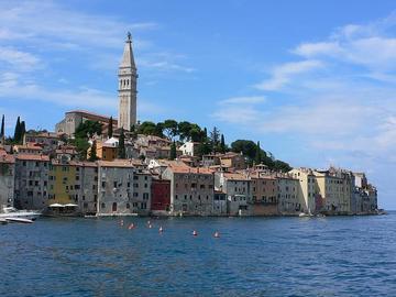 Rovigno in Croazia, foto di Heatheronhertravels - Flickr.com