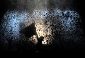 Una scena dello spettacolo di Romeo Castellucci - www.berlinerfestspiele.de