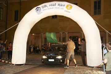 Partenza Silk road race 2012- www.silkroadrace.com