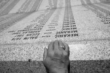 Srebrenica, memoriale di Potocari