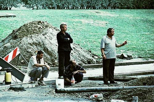 Lavoratori in Serbia