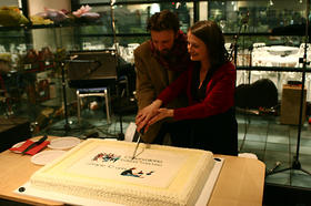Decennale OBC - Il party e la torta