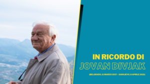 Jovan Divjak (Foto Roberta Biagiarelli)