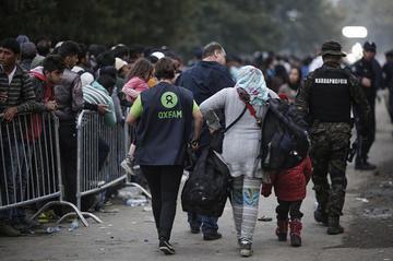 Oxfam, aiuti ai profughi sulla rotta balcanica - Foto OXFAM International.jpg