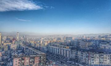 Vista su Pristina, foto di Vegim Zhitija - Flickr.com.jpg