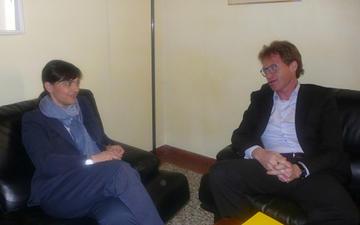 Olivi e Serracchiani, incontro a Pordenone, dal web.jpg