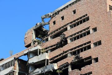 Il ministero della Difesa a Belgrado, oggetto di bombardamenti Nato nel 1999 (Tupungato / Shutterstock.com)