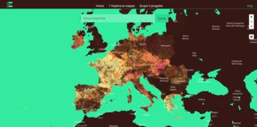 Mappa di Glocal Climate Change