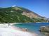 La spiaggia di Jaz vicino a Budva