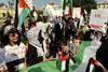Protesta palestinesi a Sofia