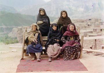 Daghestani women, 1910