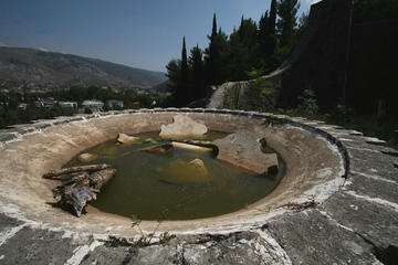 Mostar, Monumento ai partigiani di Bogdan Bogdanović - foto © Bruno Maran