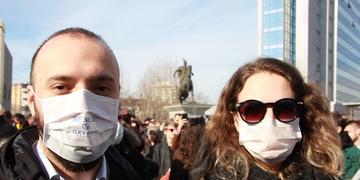 Proteste Pristina