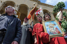 Church Led Violence at Anti-Homophobia Event in Tbilisi