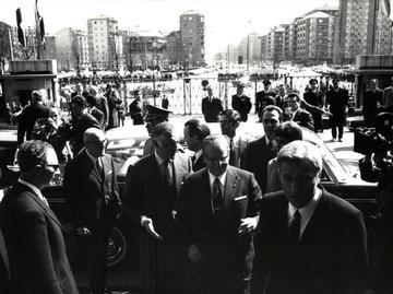 """1971, Tito e Gianni Agnelli a Torino - gentile concessione del """"Muzej Istorije Jugoslavije"""" di Belgrado"""