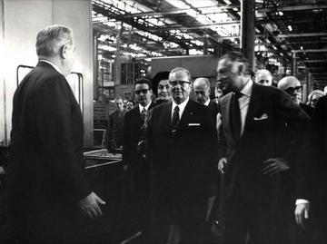 """1971, Tito e Gianni Agnelli a Torino- gentile concessione del """"Muzej Istorije Jugoslavije"""" di Belgrado"""