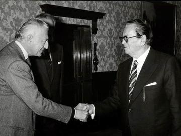 """1978, Tito e Gianni Agnelli - gentile concessione del """"Muzej Istorije Jugoslavije"""" di Belgrado"""