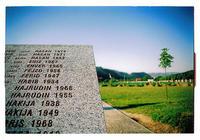 Il cimitero di Srebrenica (eleleku /Flickr)