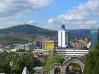 Sarajevo vista dal cimitero ebraico (Indiawest/Flickr)