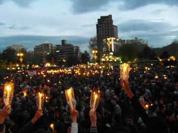 23 aprile 2014, Yerevan (Foto Simone Zoppellaro)