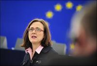 Cecilia Malmström, Commissaria Ue incaricata per la sicurezza (European Parliament /Flickr)