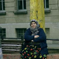 Una donna turca residente in Germania