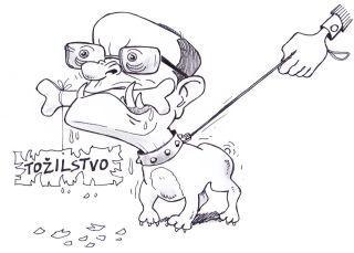 Il nuovo ministro degli Interni, vignetta di Franco Juri