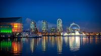 Skyline notturna di Sochi, come sarà per i Giochi olimpici invernali 2014, modello presentato a febbraio 2010 a Vancouver. Anche la città russa dipende per l'energia dalla centrale georgiano-abkhaza sull'Inguri (CoffeeGeek /Flickr)