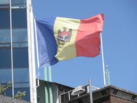 La bandiera della Moldavia (Jacob Poul Skoubo /Flickr)